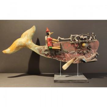 Pinocchio e la balena rossa