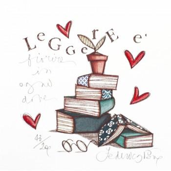 Leggere è fiorire in ogni dove