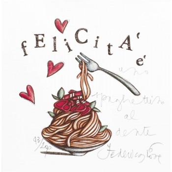 Felicità è uno spaghettino...
